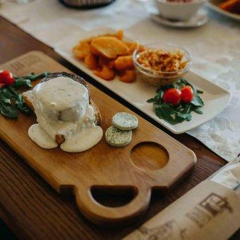 Mokro odležali biftek - gorgonzola