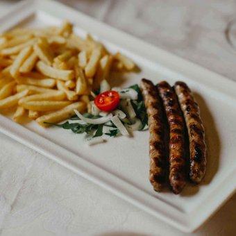 Svinjske kobasice s grilla
