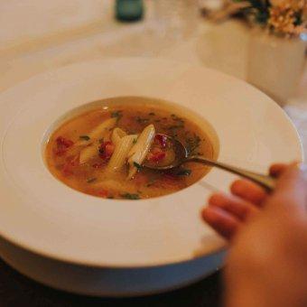 Juha od povrća s tjesteninom