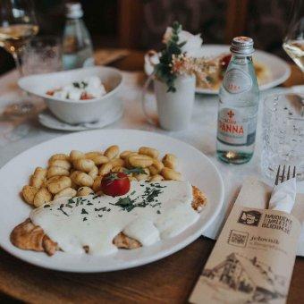 Pileći file u gorgonzoli s delikatesnim njokama