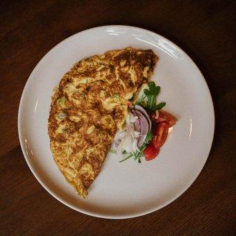 Omlet s povrćem